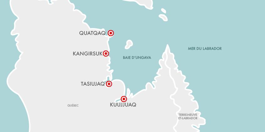 Carte Nunavik