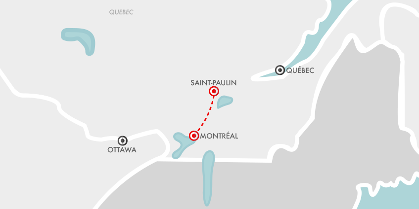 Carte Séjour Hiver Québec