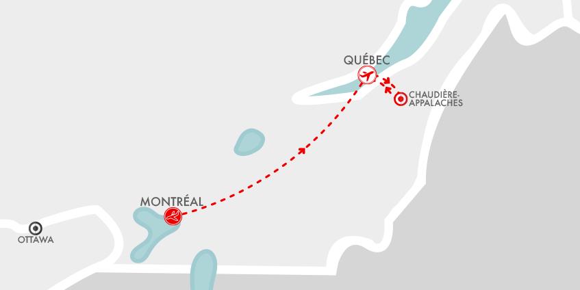 Carte Carnaval Québec