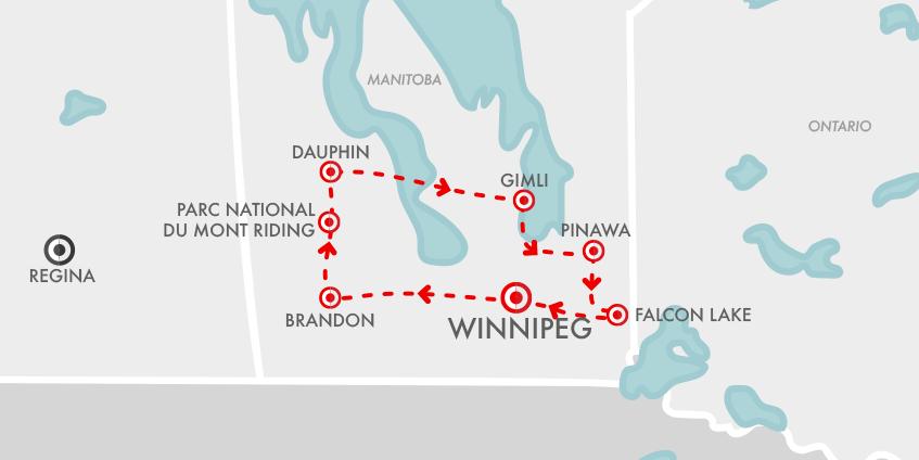 Carte Manitoba
