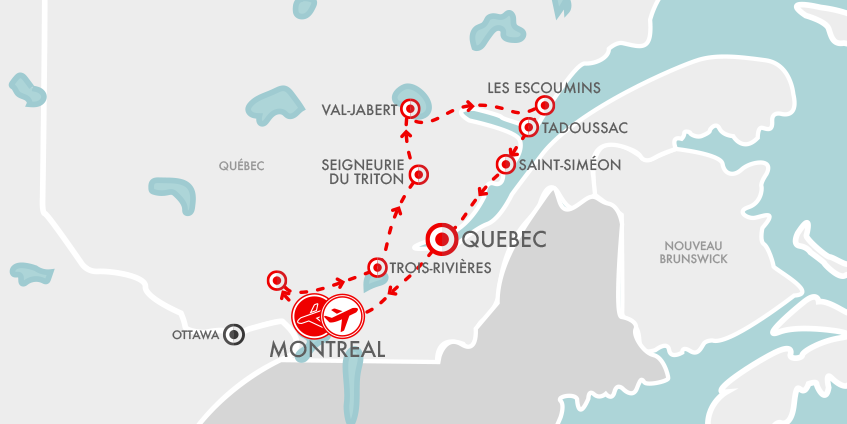 Carte Québec Insolite