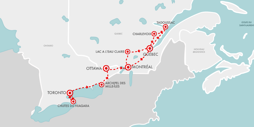 Carte Fantastique Canada