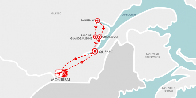 Carte Québec Souviens