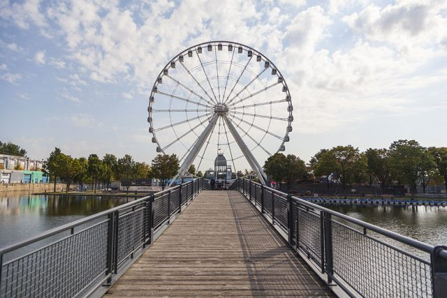 Visiter Montreal Grande Roue