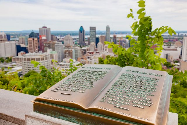 Visiter Montreal Parc Mont Royal