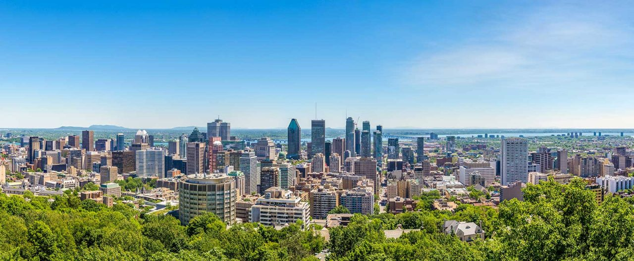 Visiter Montreal Vue Parc Mont-Royal