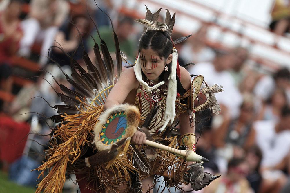 Pow wow autochtone