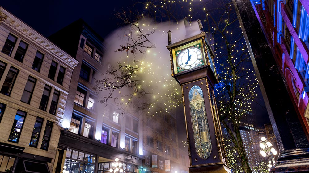 Horloge de Vancouver