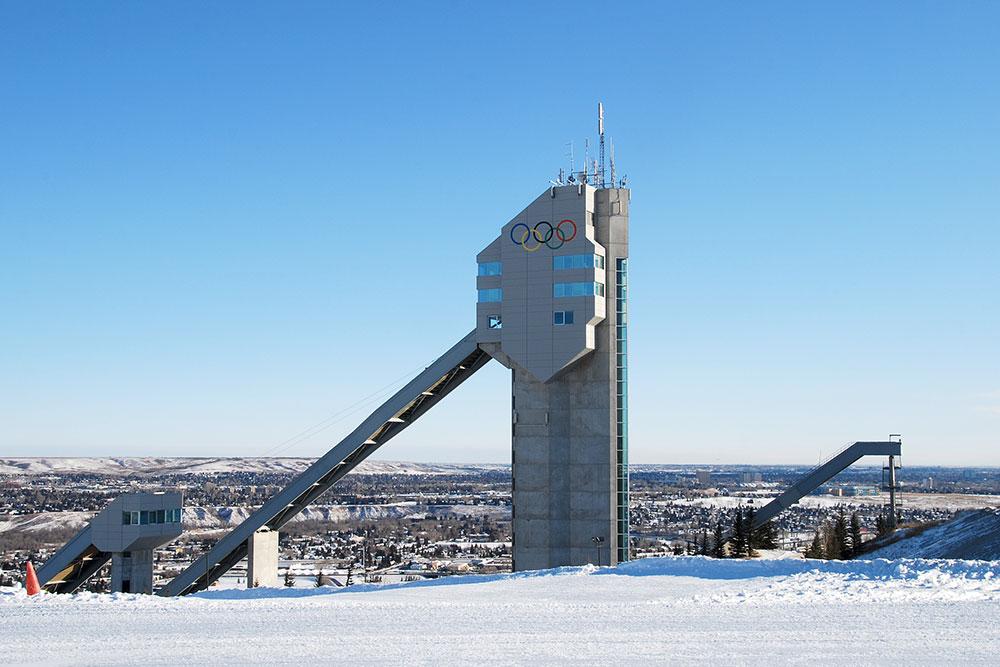 Villes à visiter au Canada : Calgary - Parc Olympique