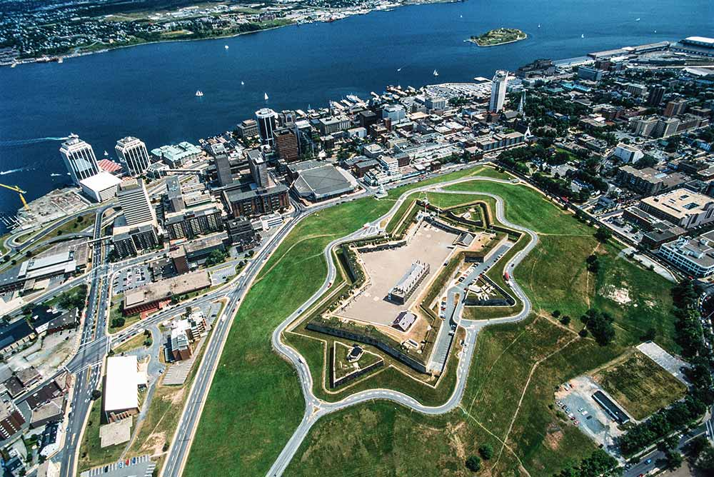 Halifax - Vue aérienne