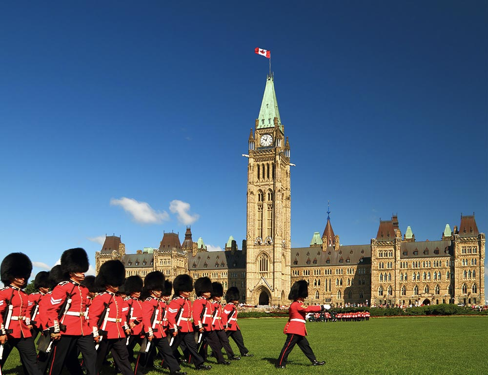 Villes à visiter au Canada : Ottawa - Parlement