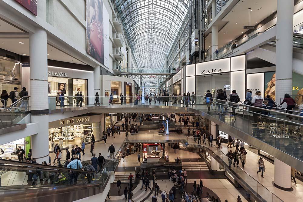 Toronto - Eaton Center