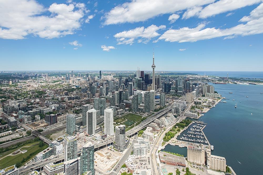 Toronto - Vue aérienne