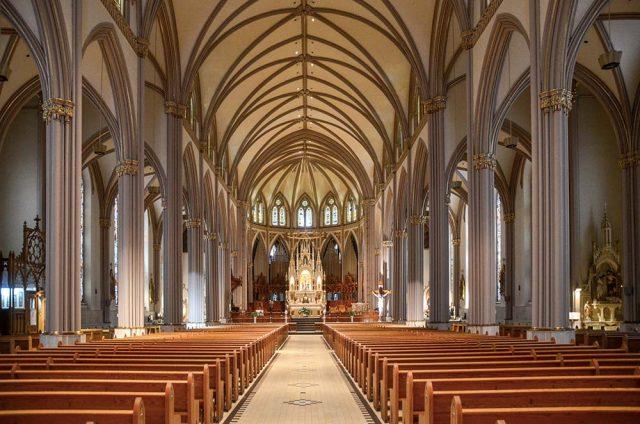Trois-Rivières - Cathédrale intérieur