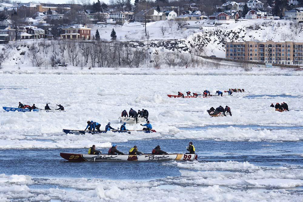 Course canots - Québec Canada