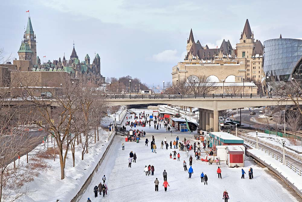Patin à Glace Canal Rideau - Ottawa