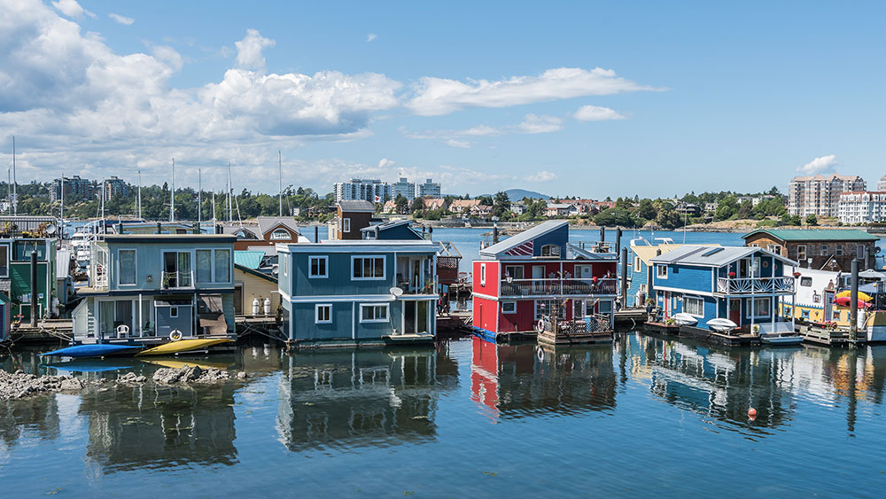 Visiter la Colombie Britannique - Fisherman's Wharf