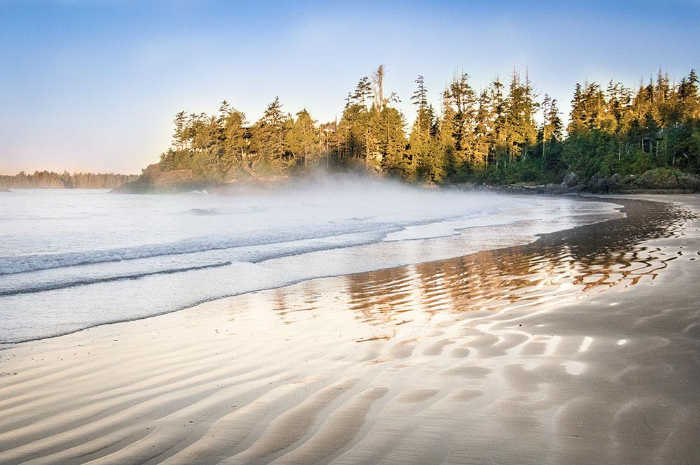 Visiter l'Île de Vancouver - Plage de Tofino