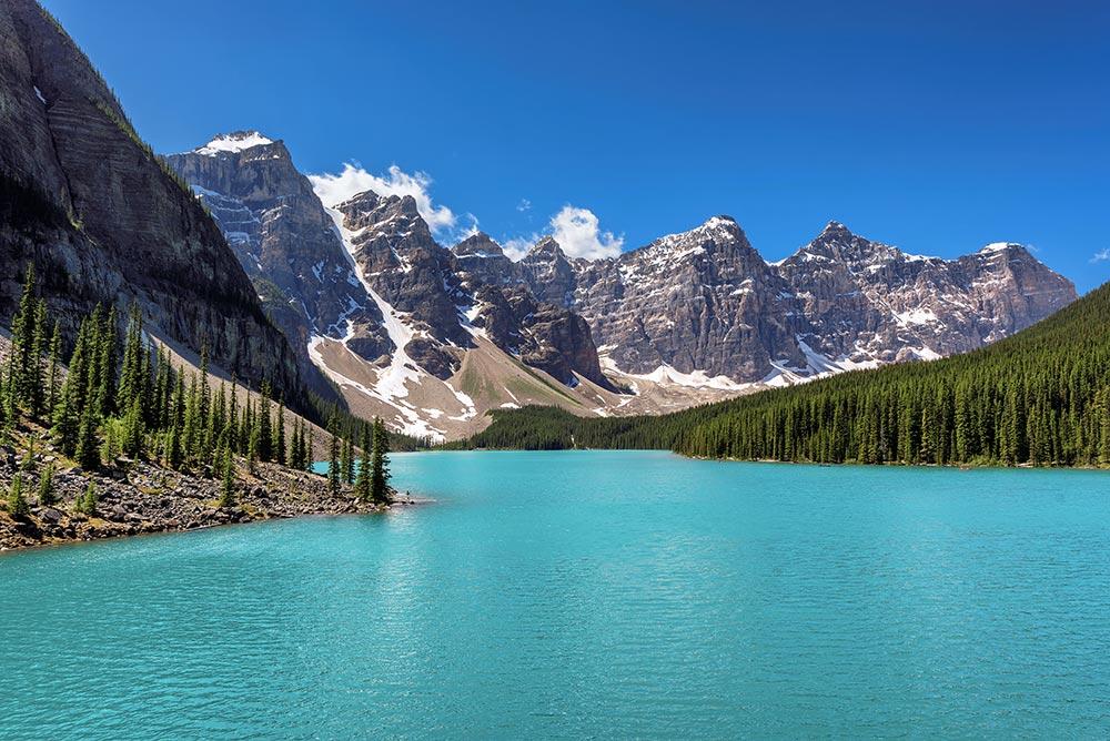 Lac Moraine - Rocheuses Canadiennes